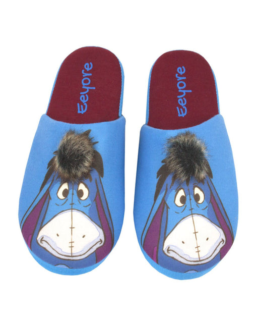 Disney Winnie The Pooh Eeyore Partial 3D Women's Novelty Character Slippers