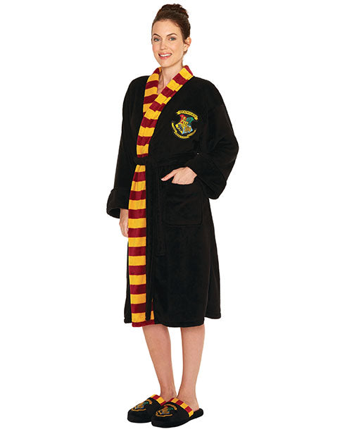 Harry Potter Hogwarts Crest Women's Bathrobe