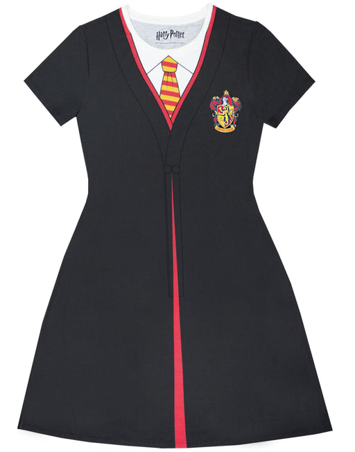 Harry Potter Gryffindor Cloak Black Costume Women's Dress