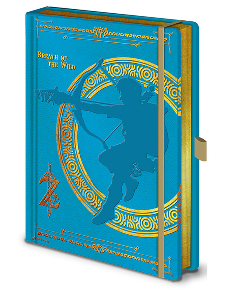 The Legend Of Zelda Breath Of The Wild Notebook