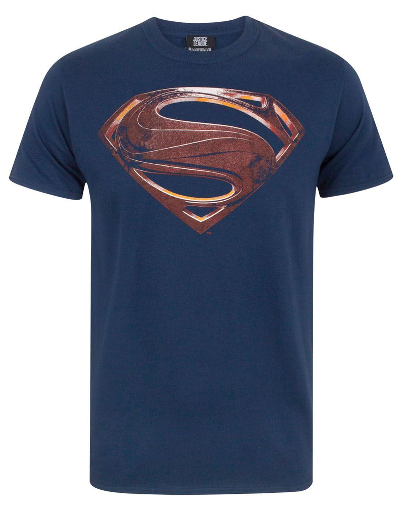 Justice League Superman Logo Men's T-Shirt