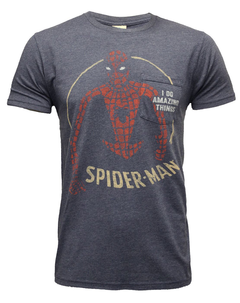 Junk Food Spider-Man Amazing Things Men's T-Shirt
