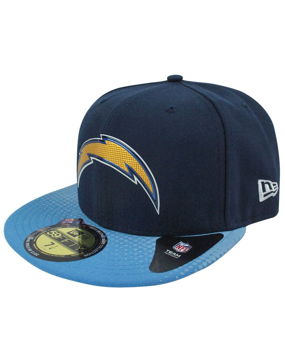 New Era 59Fifty NFL San Diego Chargers Draft Cap – Vanilla Underground 77f2559bd
