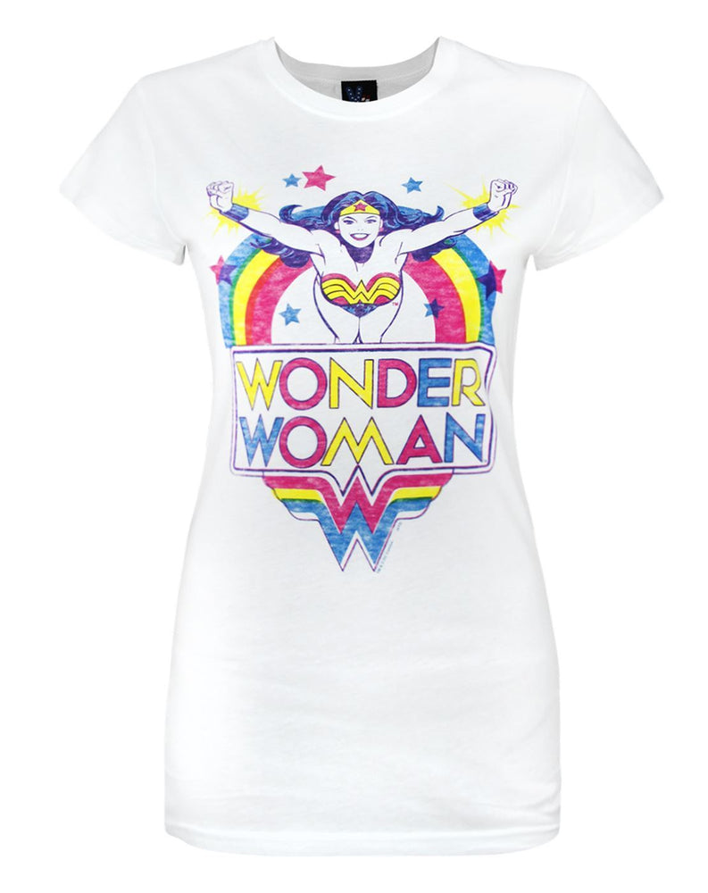 Junk Food Wonder Woman Superstar Women's T-Shirt