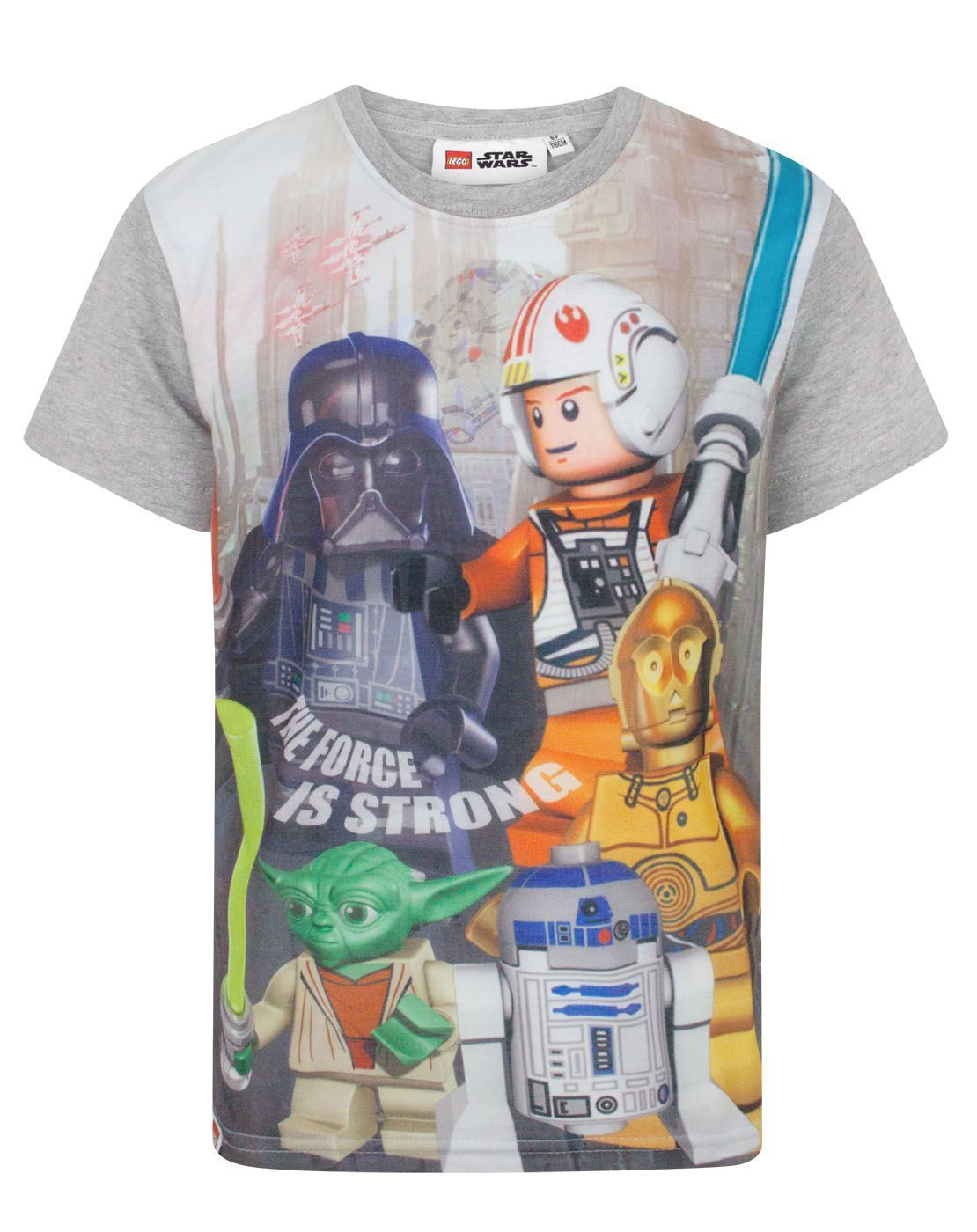 25a21f688 Lego Star Wars The Force Is Strong Boy's T-Shirt – Vanilla Underground