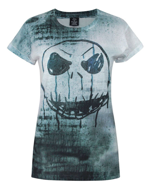 Nightmare Before Christmas Jack Face Sublimation Women's T-Shirt