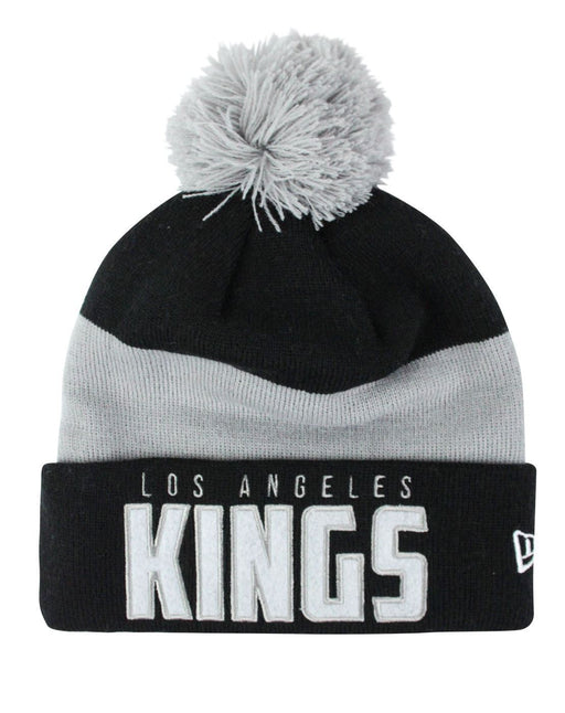 New Era NHL Los Angeles Kings Word Block Knit Hat