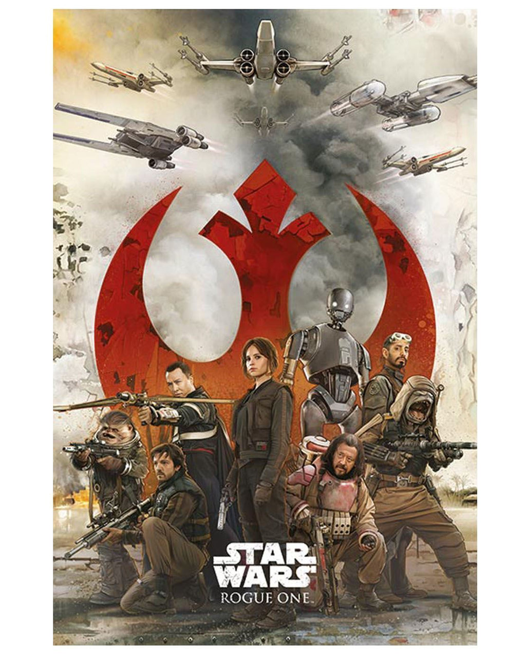 Star Wars Rogue One Rebels Maxi Poster