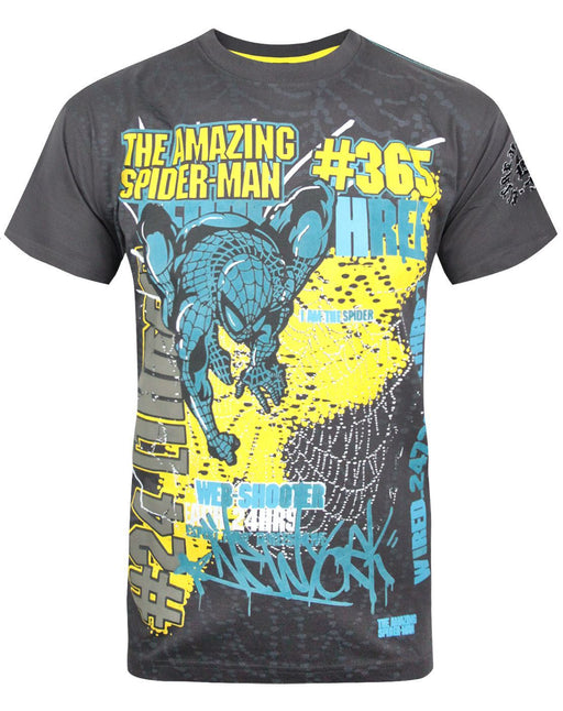 Marvel Extreme Spider-Man Men's Textured T-Shirt