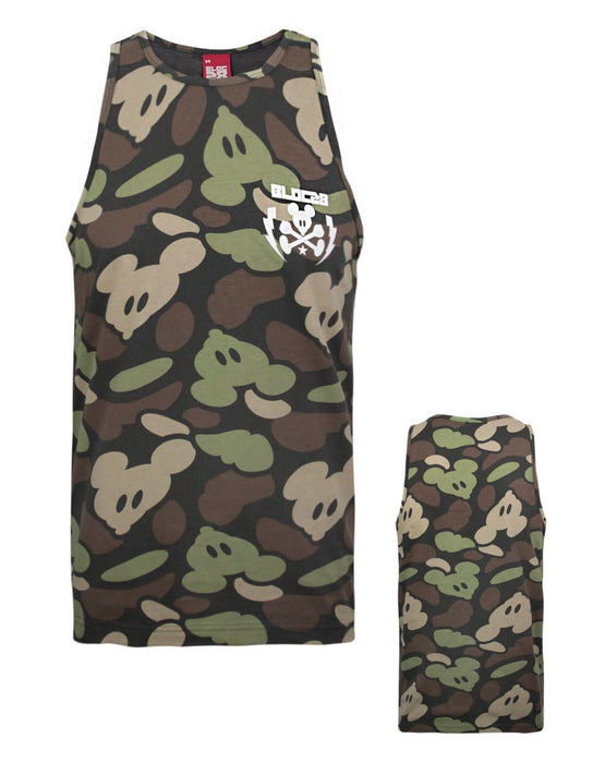 Bloc 28 Camo Mickey Men's Vest