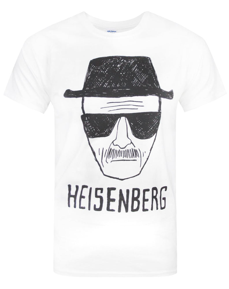 Breaking Bad Heisenberg Sketch Men's T-Shirt
