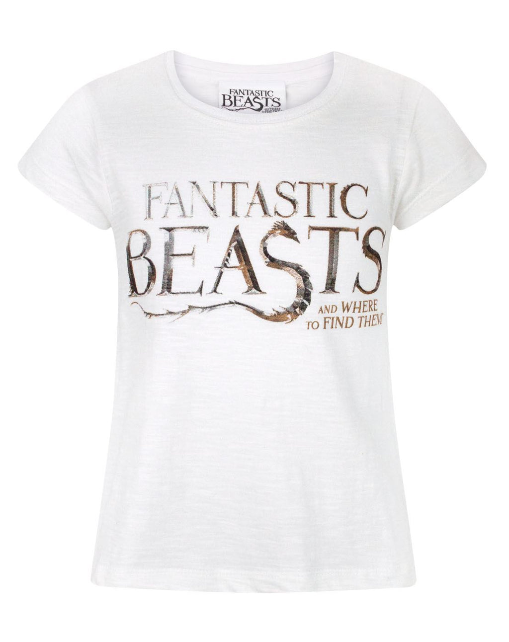 Fantastic Beasts And Where To Find Them Logo Girl's T-Shirt