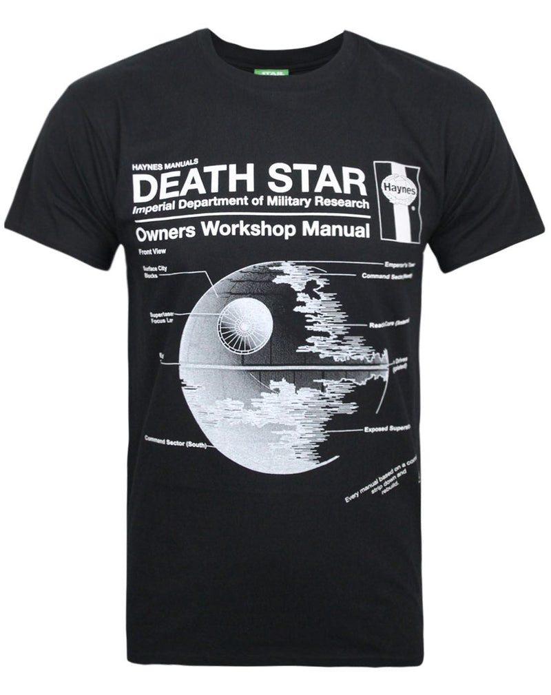Haynes Manual Star Wars Death Star Men's T-Shirt
