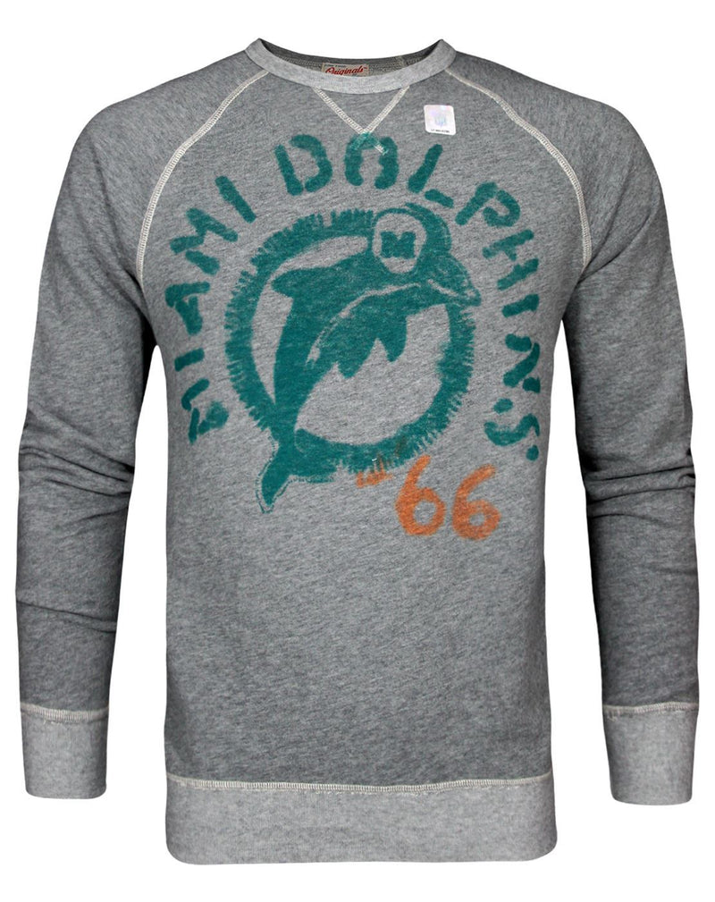Junk Food NFL Miami Dolphins Men's Sweater