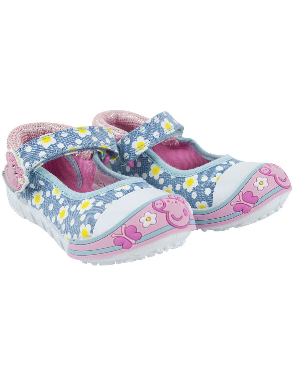 Peppa Pig Girl's Bar Shoes