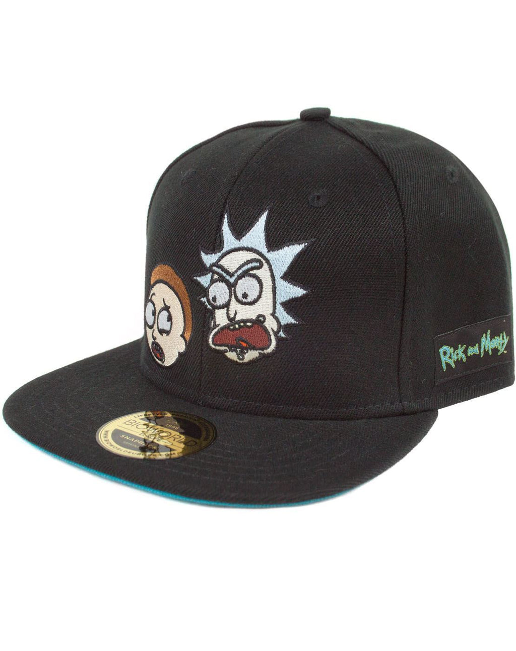 Rick And Morty Faces Snapback Cap