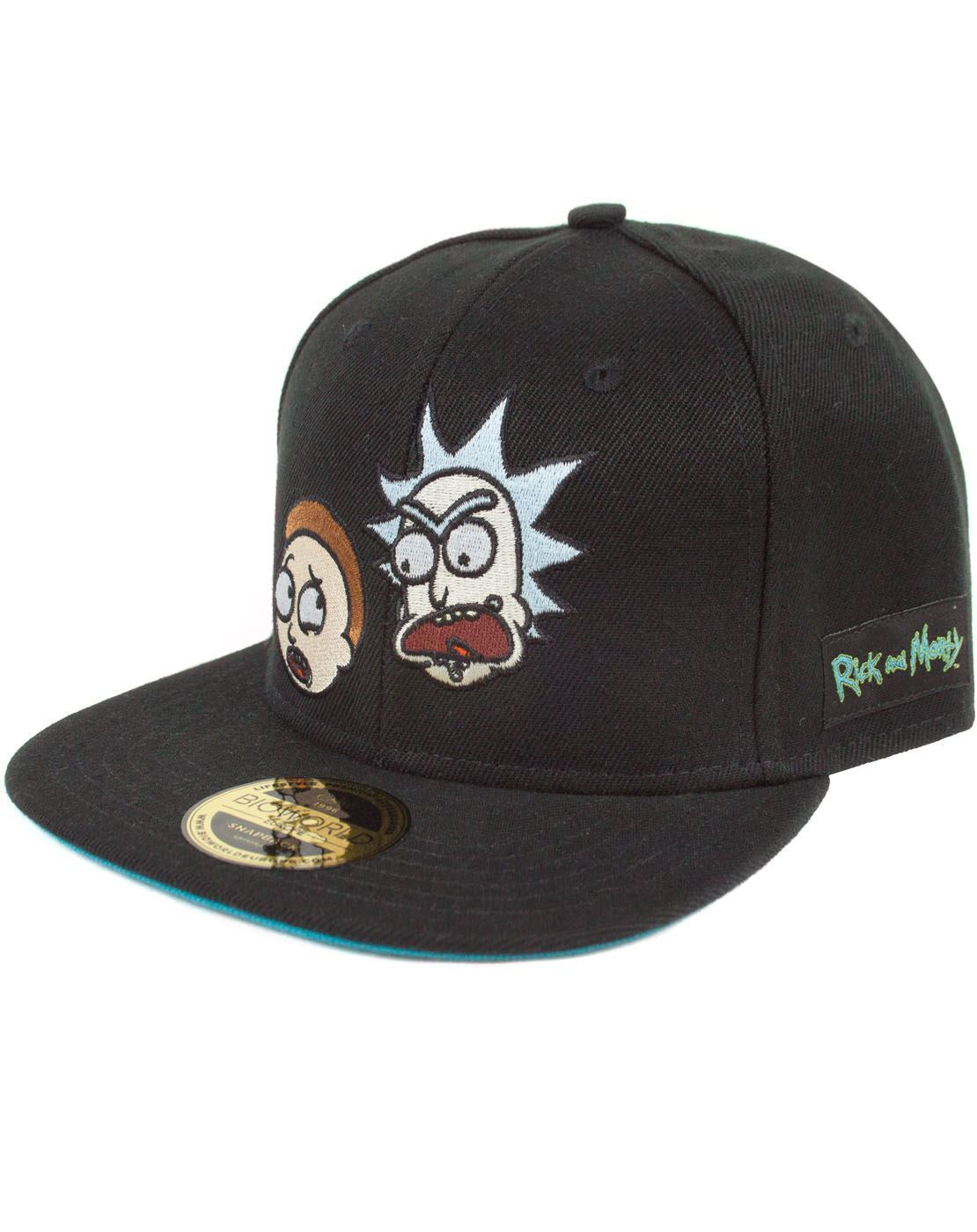 65b8efa8380 Rick And Morty Faces Snapback Cap – Vanilla Underground