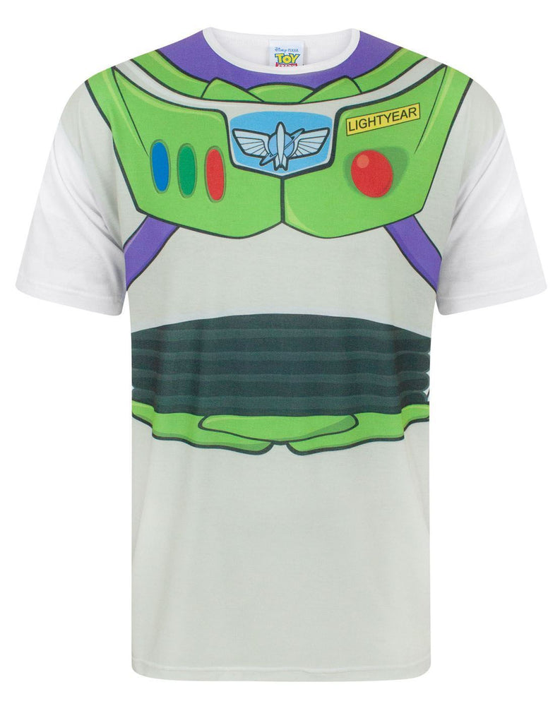 Disney Toy Story Buzz Lightyear Costume Men's T-Shirt