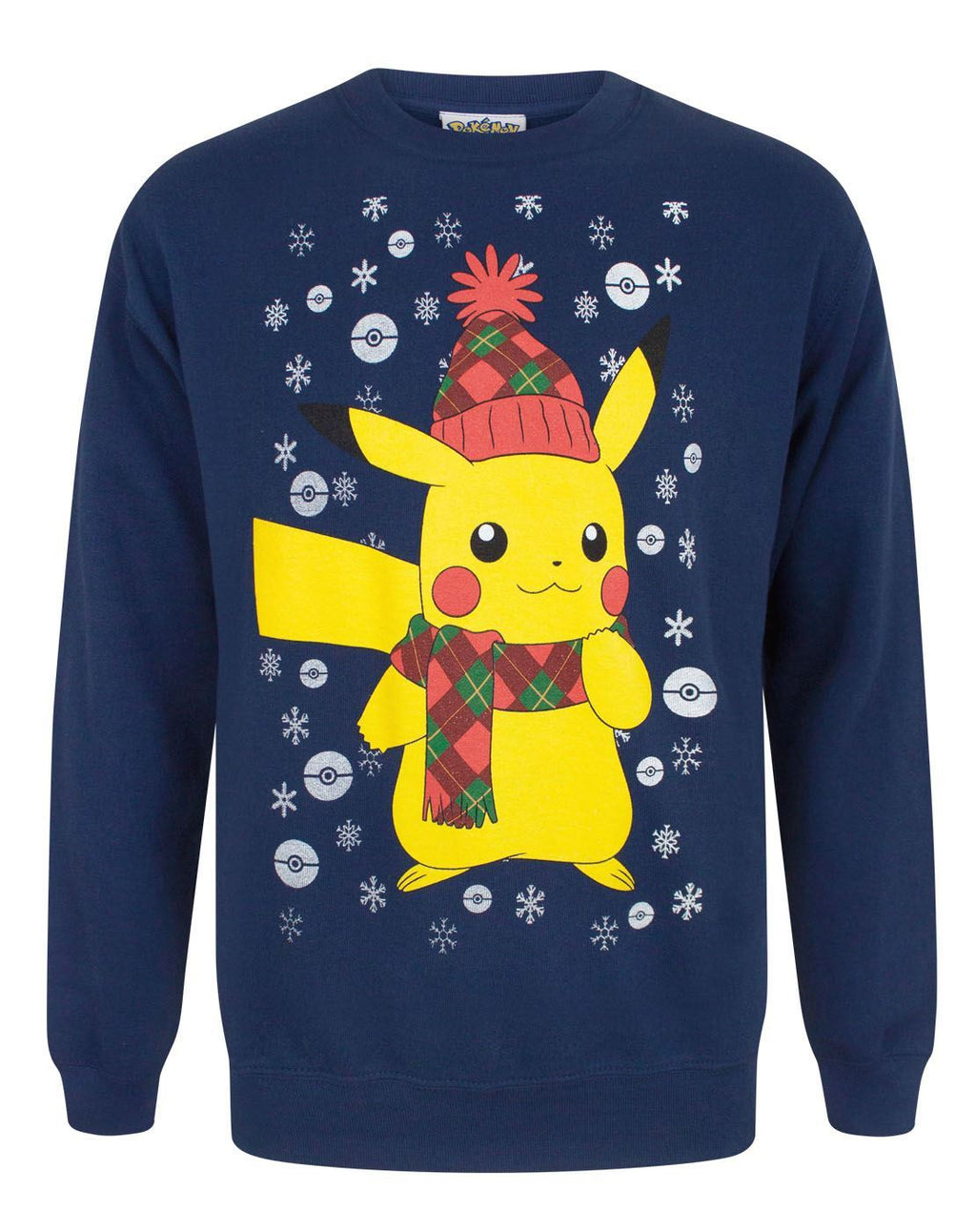 Pokemon Pikachu Men's Christmas Sweater