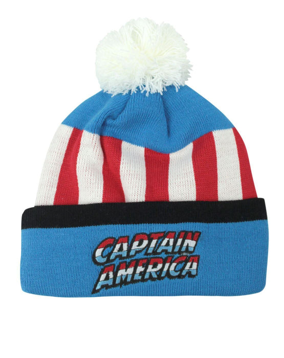 Captain America Retro Original Bobble Hat