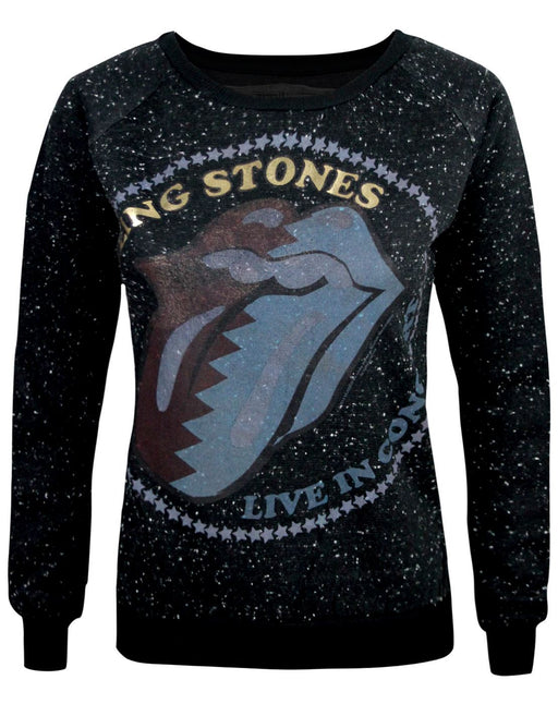 Amplified Rolling Stones Zig Zag Lick Women's Sweater