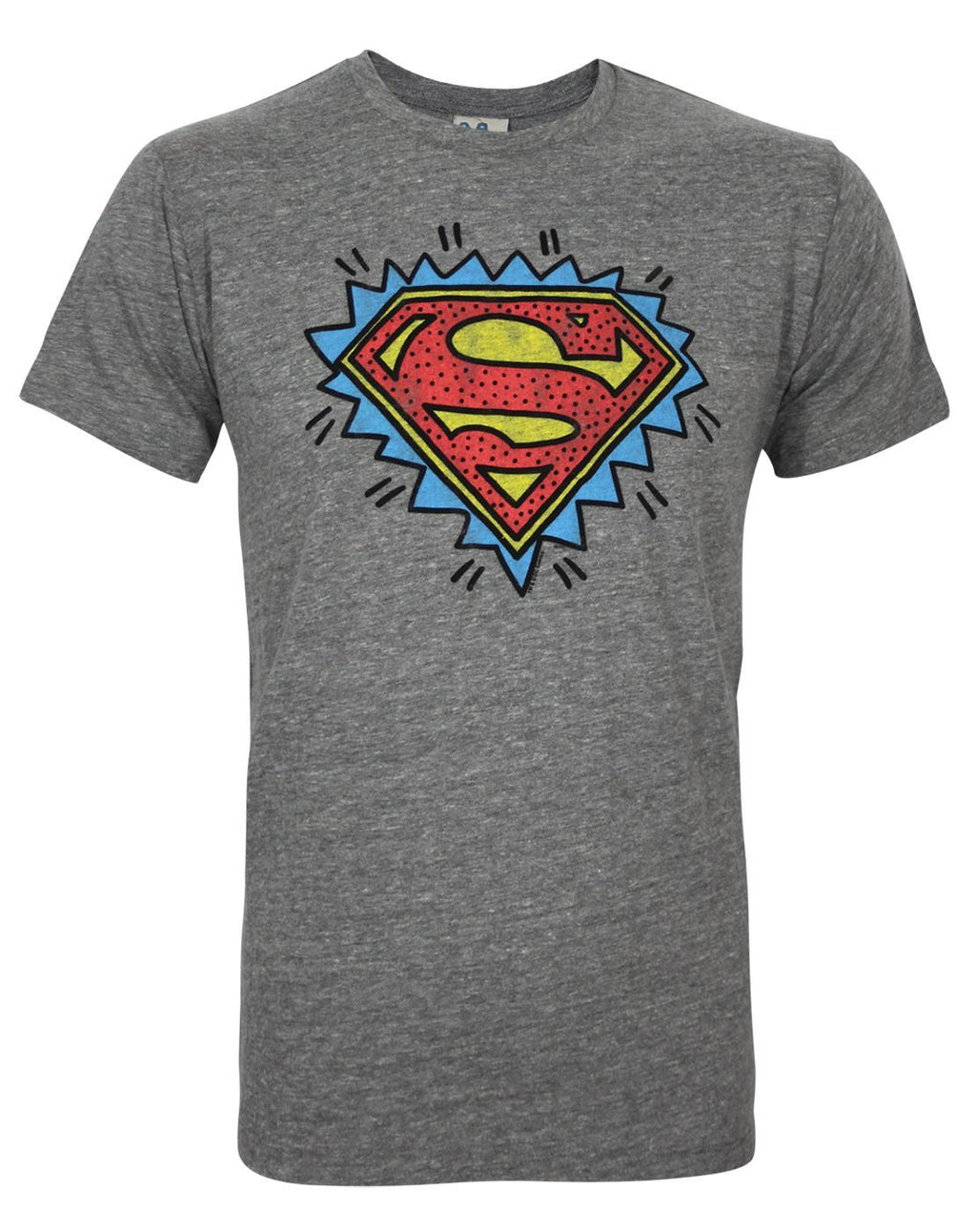 Junk Food Superman Logo Men's T-Shirt