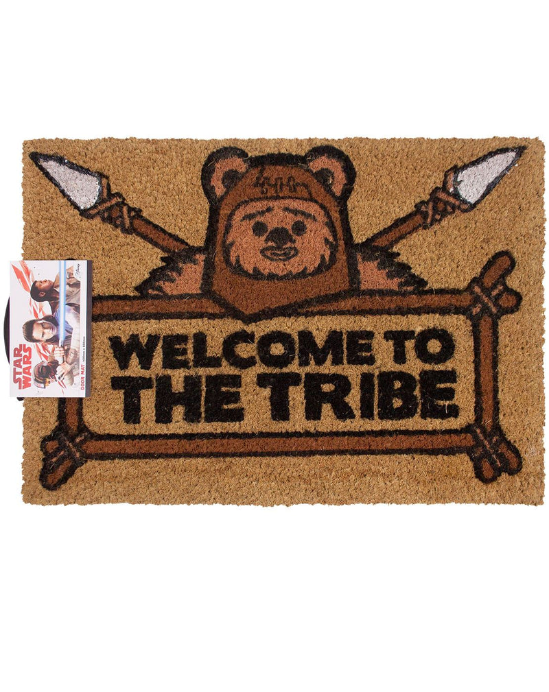 Star Wars Welcome To The Tribe Door Mat