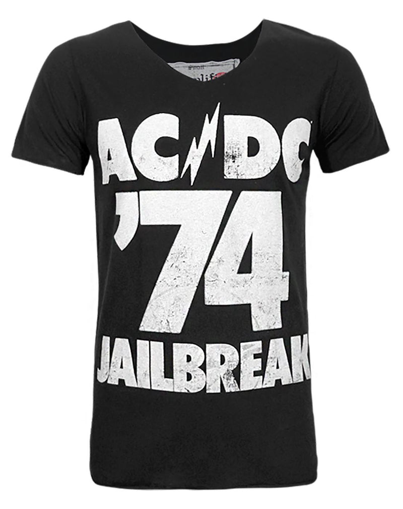 Amplified AC/DC Jailbreak '74 Men's T-Shirt