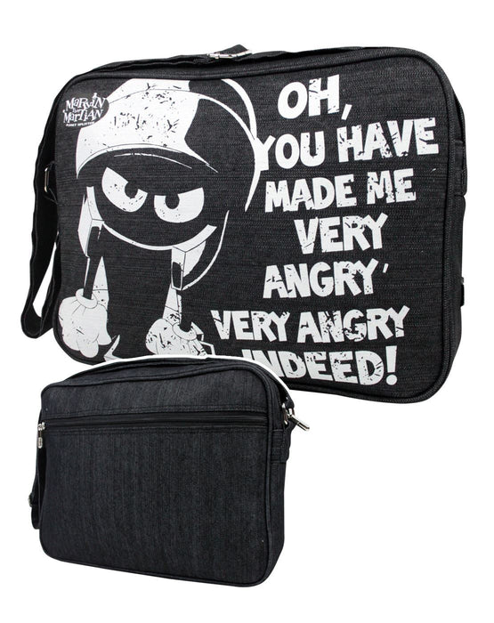 Looney Tunes Marvin Martian Messenger Bag