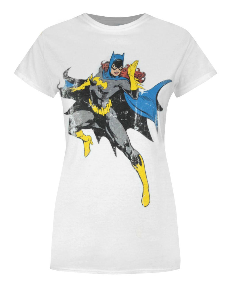 Batgirl Distressed Women's T-Shirt