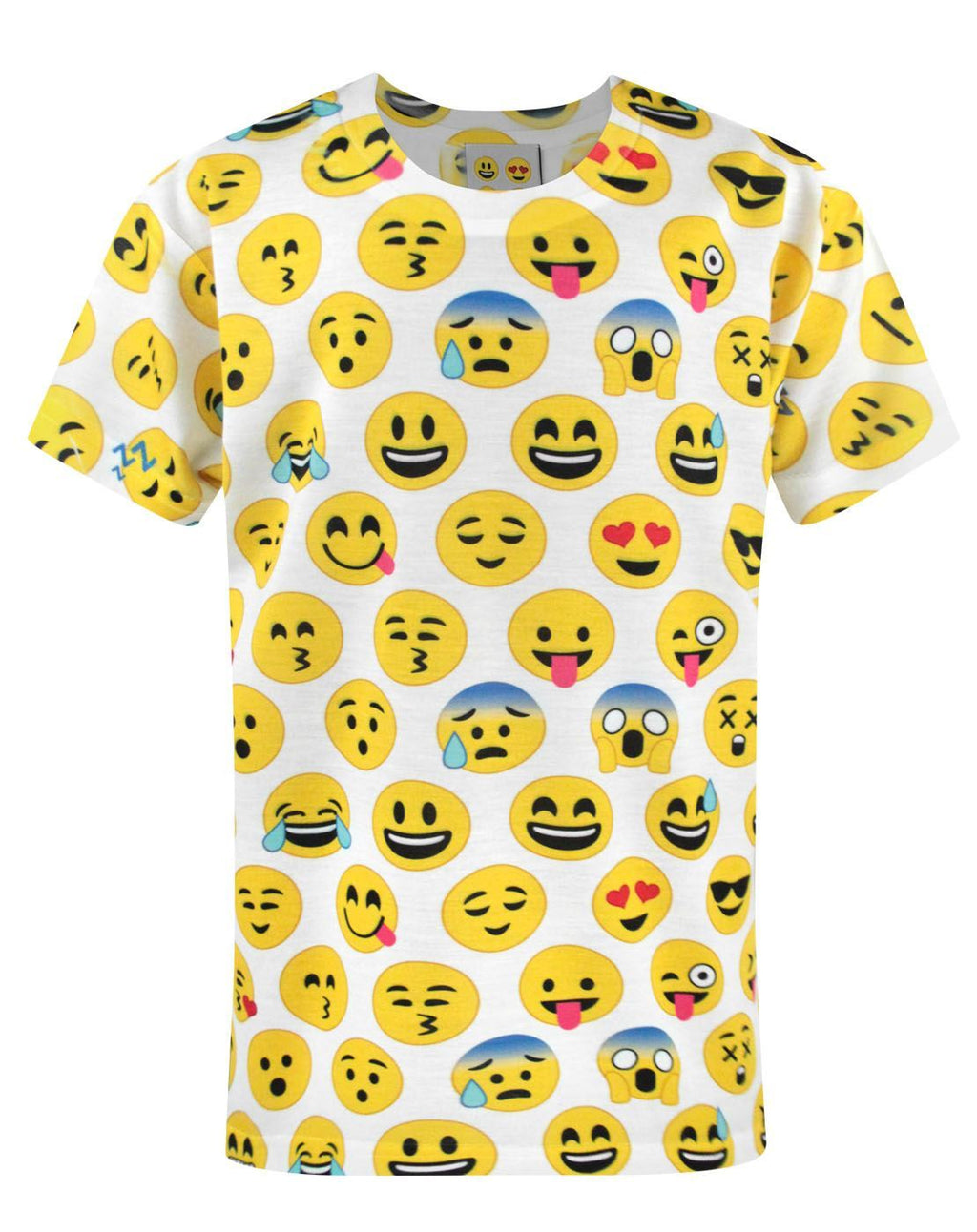 Emoticon Sublimation Boy's T-Shirt