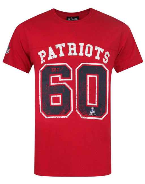 New Era NFL New England Patriots Vintage Team Number Men's T-Shirt