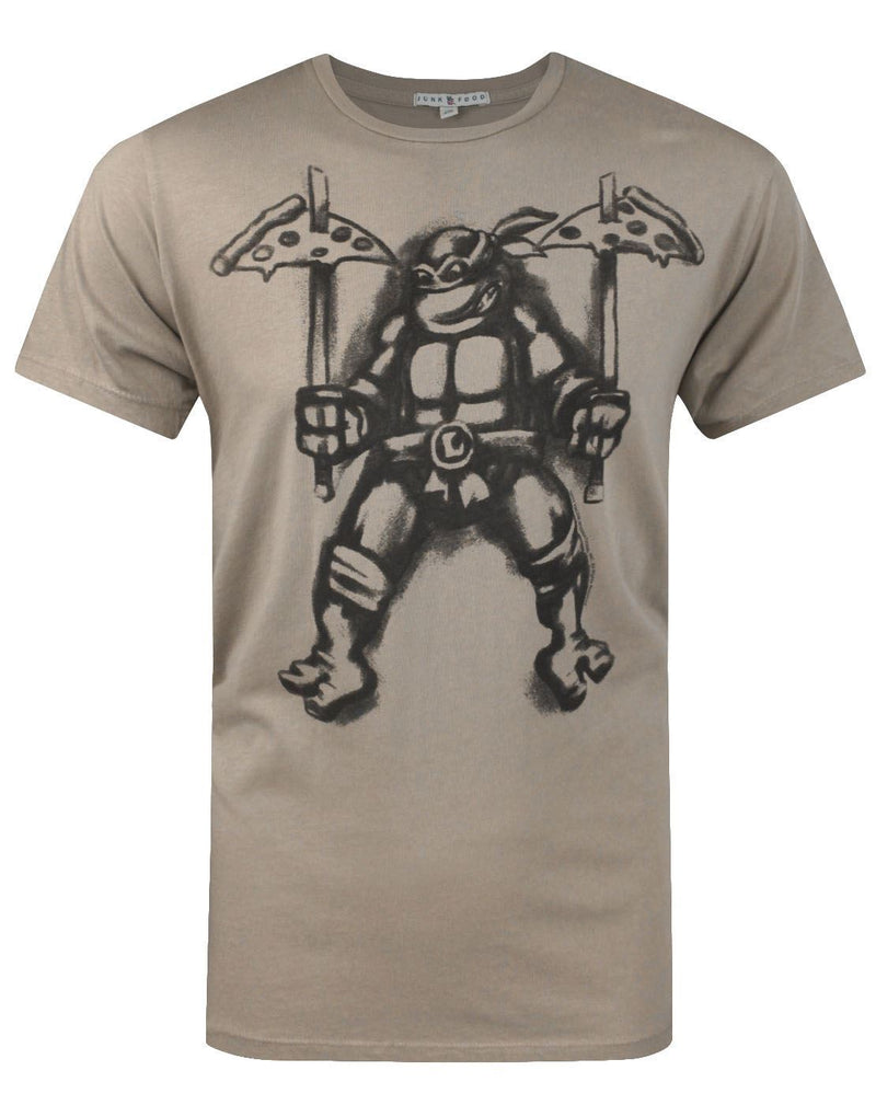 Junk Food Teenage Mutant Ninja Turtles Pizza Men's T-Shirt