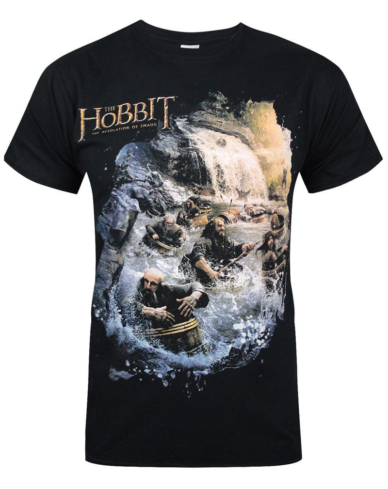 Hobbit: Desolation Of Smaug Barrels Men's T-Shirt