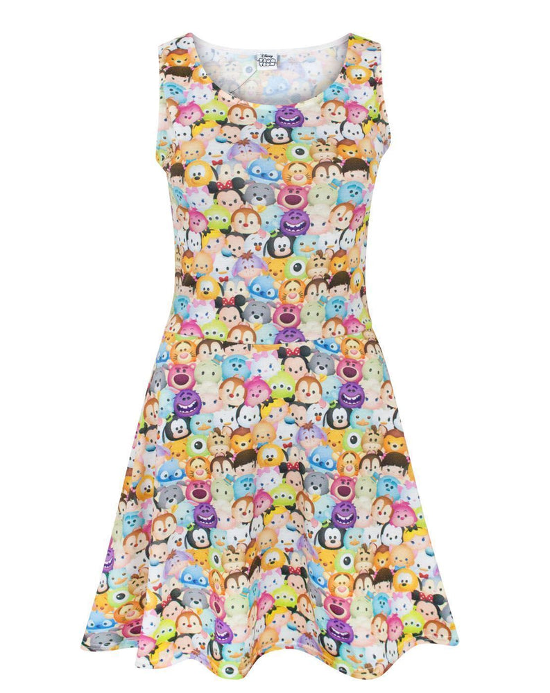 Disney Tsum Tsum Women's Skater Dress