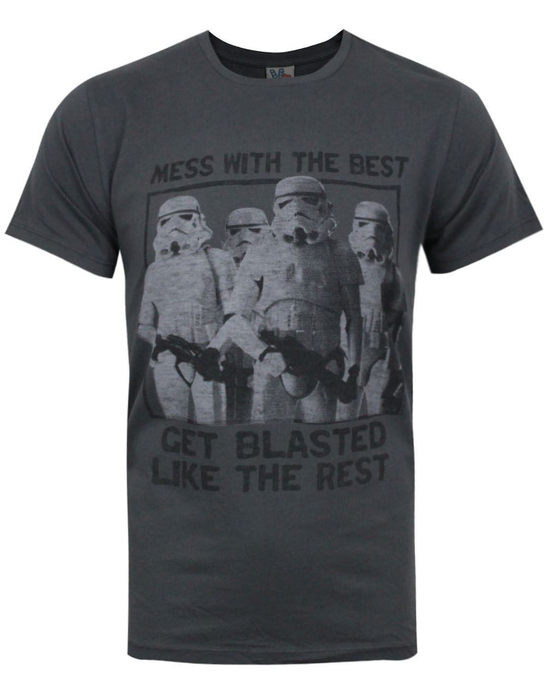 Junk Food Star Wars Mess With The Best Men's T-Shirt