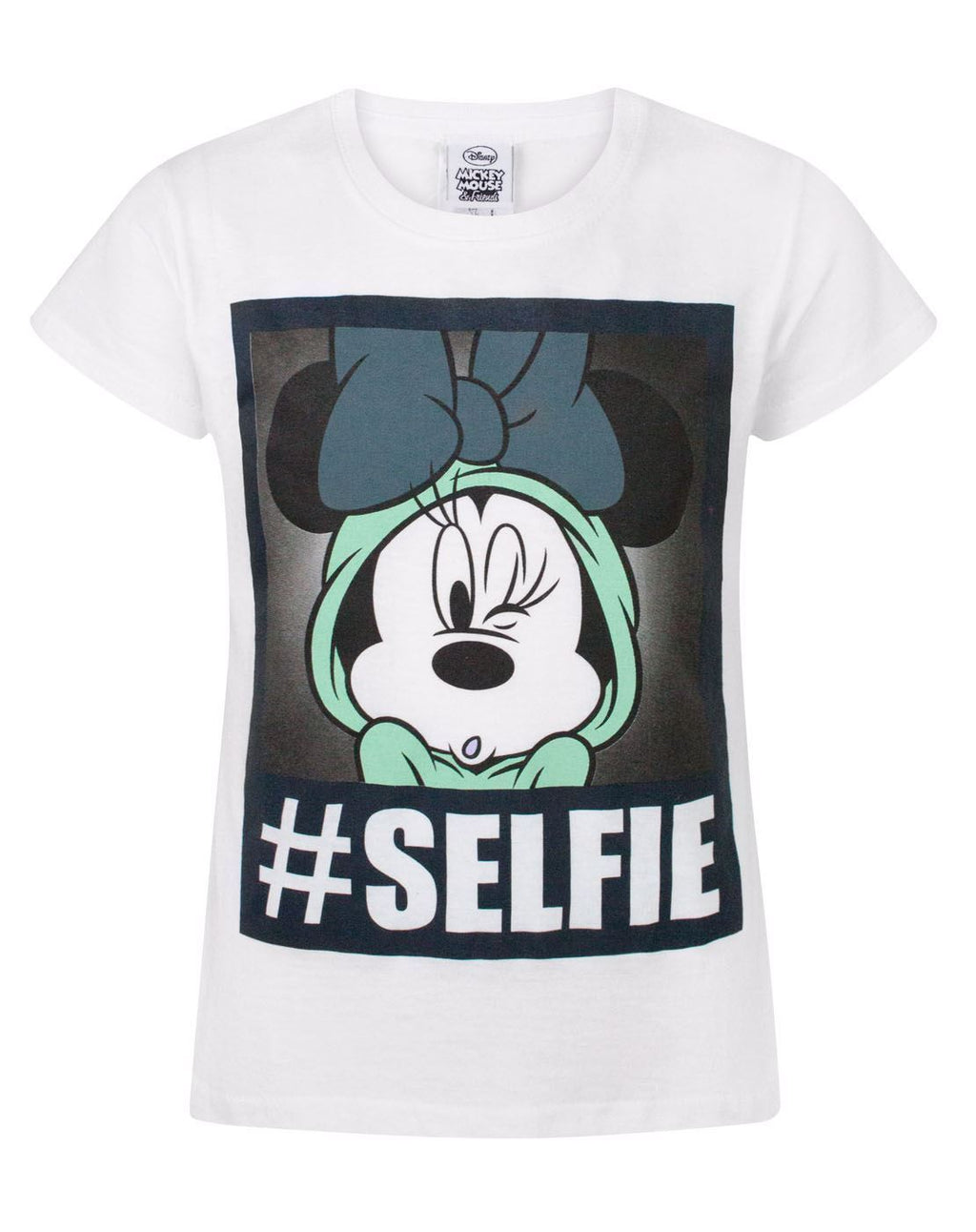 Disney Minnie Mouse Selfie Girl's T-Shirt
