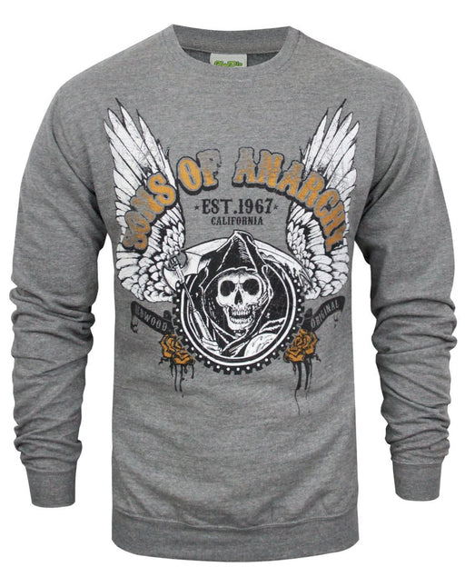 Sons Of Anarchy Winged Reaper Men's Sweater