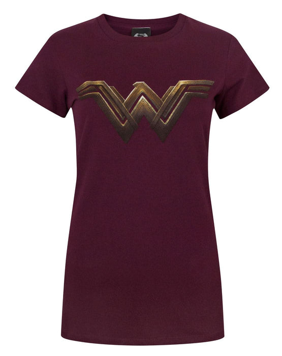 Batman VS Superman Wonder Woman Logo Women's T-Shirt