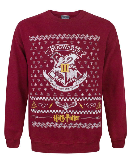 Harry Potter Hogwarts Christmas Sweatshirt