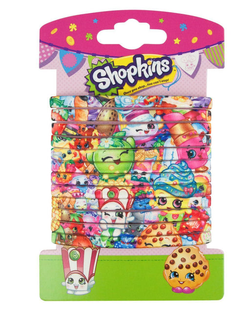 Shopkins Printed Hair Ties