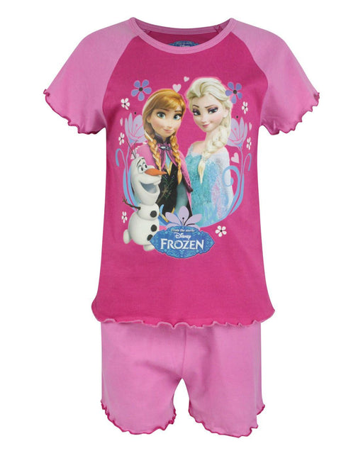 Frozen Girl's Pyjama Shorts Set