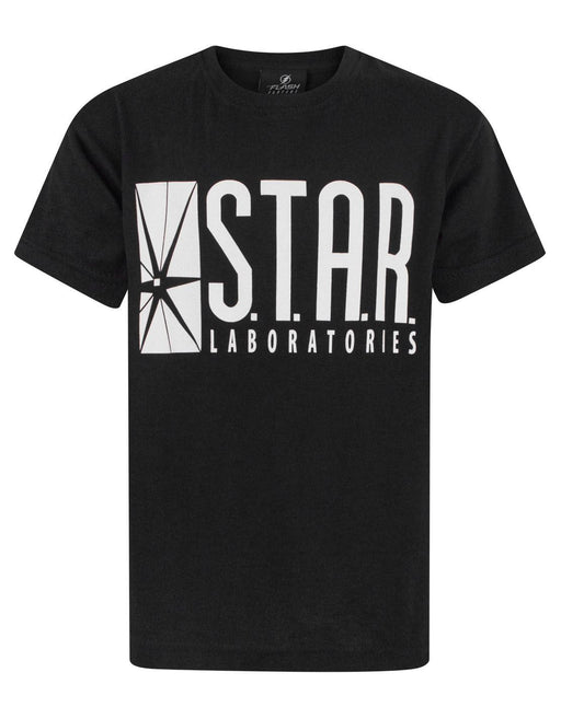 Flash TV STAR Laboratories Boy's T-Shirt