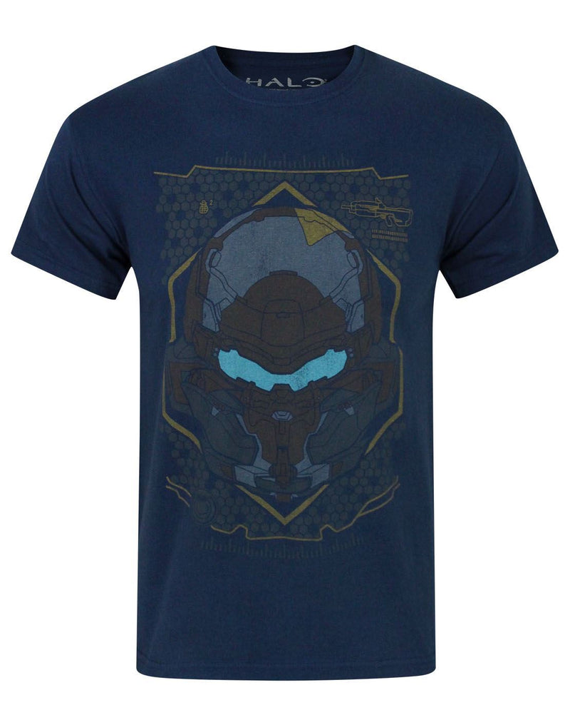 Halo 5 Locke HUD Helmet Boy's T-Shirt