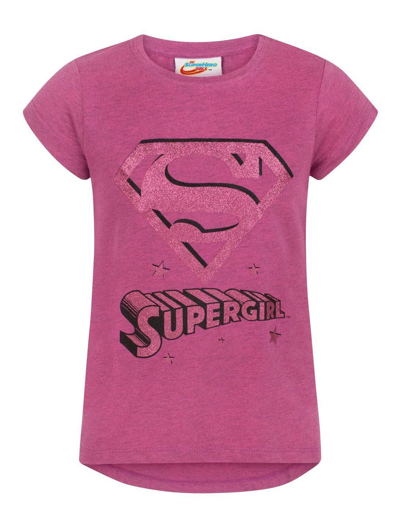 DC Superhero Supergirl Girl's T-Shirt