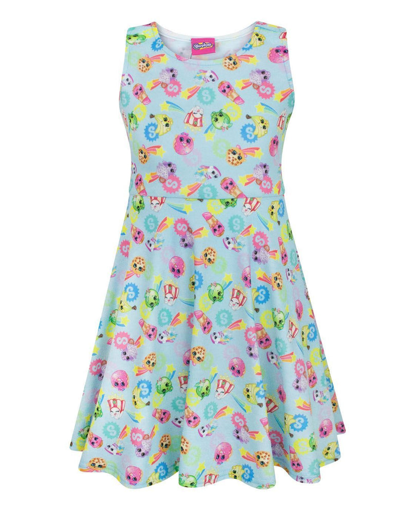 Shopkins Stars Girl's Skater Dress