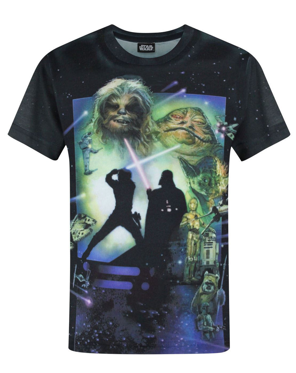 Star Wars Return Of The Jedi Sublimation Boy's T-Shirt