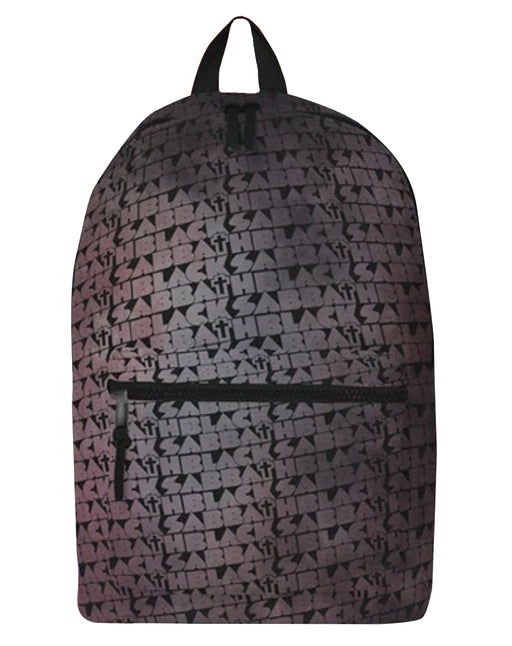 Rock Sax Black Sabbath Distressed Cross Backpack
