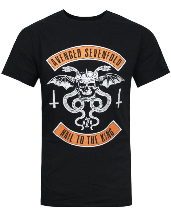 Avenged Sevenfold Hail To The King Skull Men's T-Shirt