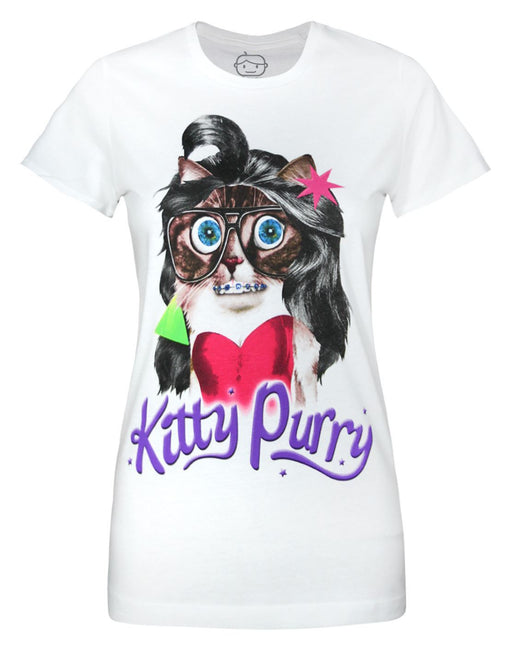 Goodie Two Sleeves Kitty Purry Women's T-Shirt